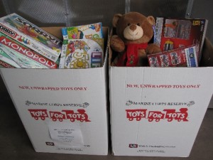 Canon Medical Research USA, Inc. (CMRU) participates in Toys for Tots