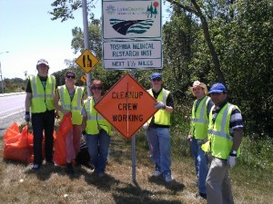 Canon Medical Research USA, Inc. (CMRU) participates in Adopt-a-Highway