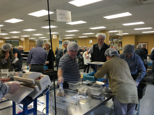 Canon Medical Research USA, Inc. (CMRU) dedicates time and resources to Feed My Starving Children
